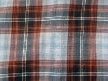 Orange plaid Royalty Free Stock Photos