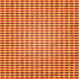 Orange Plaid Stockbild