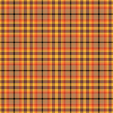 Orange plaid pattern Stock Photos