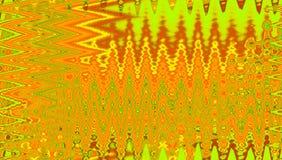Orange plasmaabstrakt begreppmodell med ramen av droppar och vågor vektor illustrationer