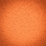 Orange plaster background wall Royalty Free Stock Photos
