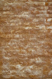 Orange Plaster on Old Brick Wall Background Texture Stock Photo