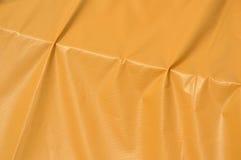 Orange plastic tent Stock Photography