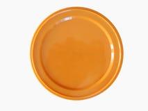 Orange plastic token money Stock Image