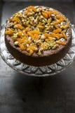 Orange and Polenta cake Royalty Free Stock Image