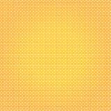 Orange polka dot retro backgrounds Stock Photos