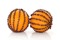 Orange Pomanders Stock Photos