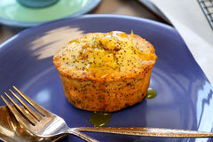 Orange And Poppy Seed Cakes Stock Photo
