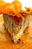 Orange Poppy Seeds Tart Royalty Free Stock Images