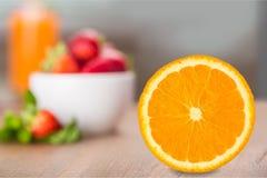 Orange Portion Stock Photos