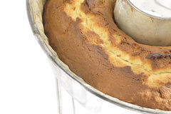 Orange pound cake Stock Images