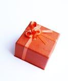Orange present Stock Photo