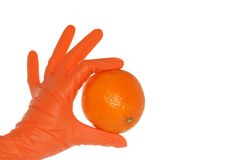 orange presents royaltyfri fotografi