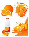 Orange products Royalty Free Stock Photography