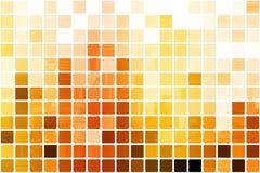 Orange professioneller abstrakter Kubikhintergrund Stockfotos