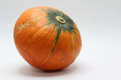 Orange pumkin Royalty Free Stock Photo