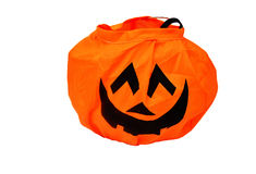 Orange pumpkin Halloween Stock Images