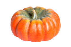 Orange pumpkin isolated Stock Image