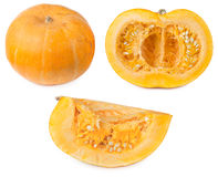 Orange pumpkin Stock Photo