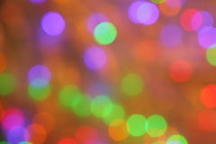 Orange Purple Green Red Blur Background - Stock PHotos. Orange Purple Green Red Blur Background -  Blurred Lights - Abstract Wallpaper with Christmas Party Stock Photography