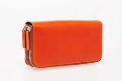 Orange purse Stock Photo