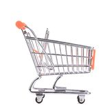 Orange pushcart. Royalty Free Stock Photo