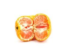 Orange. Put on a white background Stock Photos