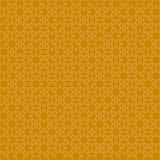 400 Orange Puzzles. Vector Illustration. Royalty Free Stock Images