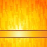 Orange quadriert Retro- Hintergrund Lizenzfreies Stockbild