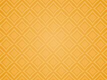Orange quadriertes Muster. Stockfotografie