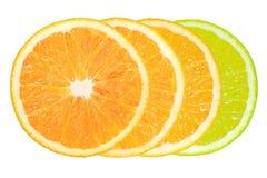 Orange quatre Photo libre de droits