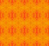Orange rött för sömlösa prydnader Arkivbilder