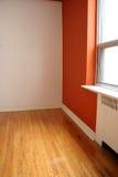 Orange Raum und Fenster Lizenzfreie Stockfotos