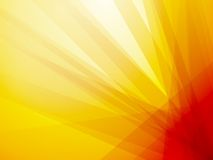 Orange ray dark background Stock Image