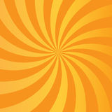 Orange rays abstract background Royalty Free Stock Photography