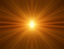 Orange Rays Background Stock Photos