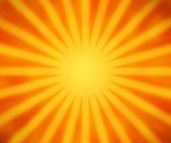 Orange Rays Background Royalty Free Stock Photography