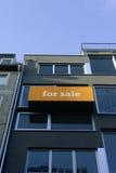 Orange real estate sign Stock Photo