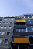 Orange real estate sign Royalty Free Stock Photo