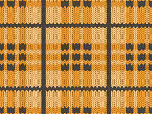 Orange realistic textile pattern Stock Photo