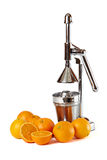 Orange reamer Stock Photos