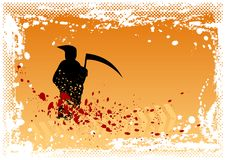 Orange reaper Royalty Free Stock Photography