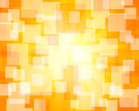Orange rectangular abstract bokeh Royalty Free Stock Images