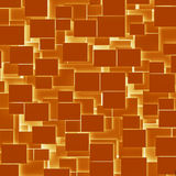 Orange rectangular texture background Royalty Free Stock Images