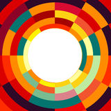 Orange and red abstract cover. Pattern Stock Photos
