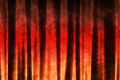 Orange Red Abstract Texture Background. In Soft Waves Patterns Stock Photography