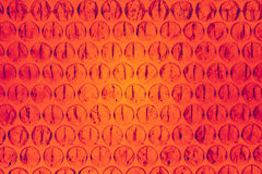 Orange and red circular abstract Royalty Free Stock Photography