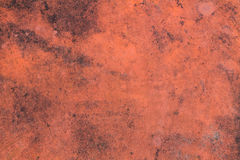 Orange red dark background wall texture Royalty Free Stock Images