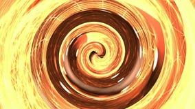Orange hypnosis spiral. Orange and red hypnosis spiral royalty free illustration
