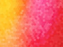 Orange red mosaic background. Abstract orange red mosaic background Stock Photo